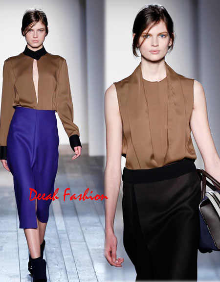 Koleksi Terbaru Victoria Beckham Fall Winter 2013