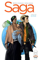 Cover image for Saga, issue one (#1)