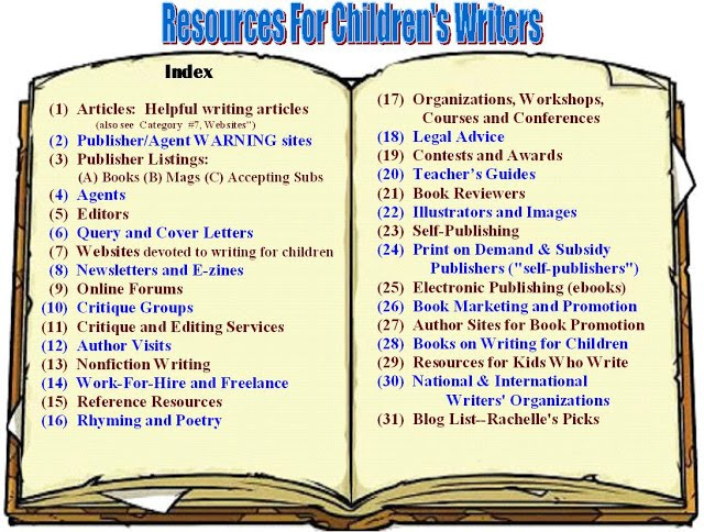 Are you an adult who writes for kids? Visit RESOURCES FOR CHILDREN'S WRITERS