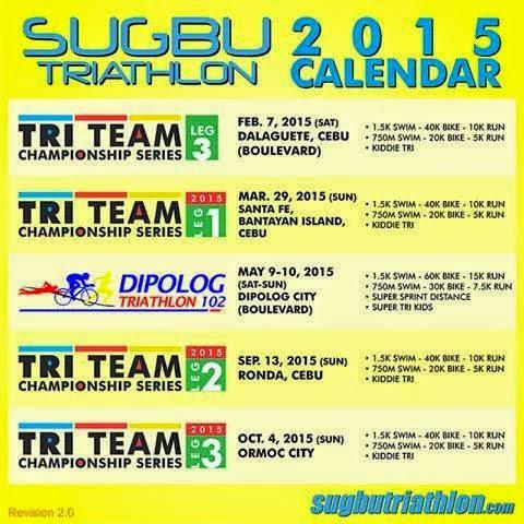 Sugbu Triathlon Race