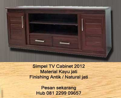 Contoh Design Tv Cabinet