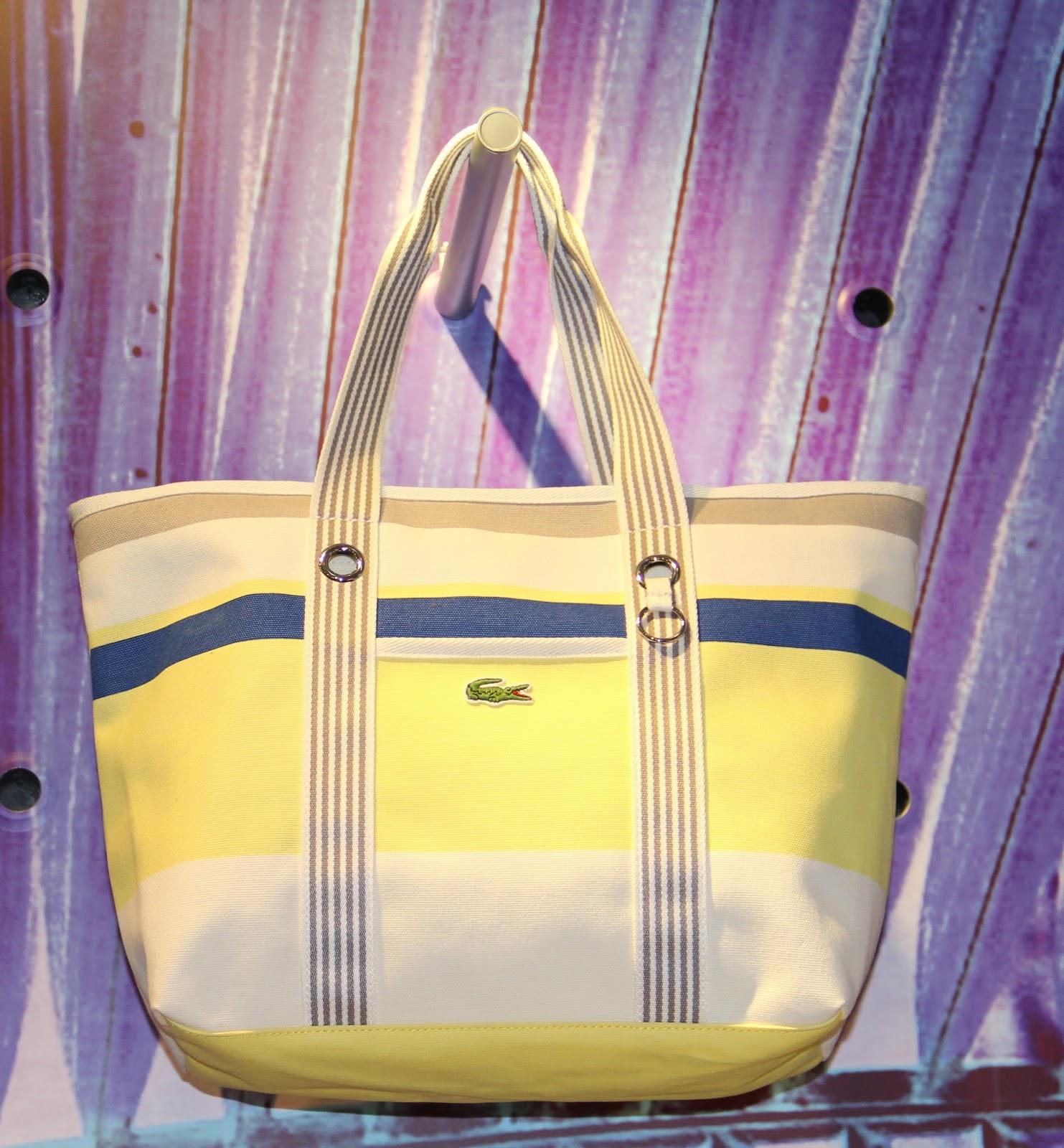 Lacoste Live Footwear Apparel Accessories Plus Peter Espro Madison Shoulder Handbag Navy Canvas Tote Shopperhardware Details Reminds Us Of Boat Portholes