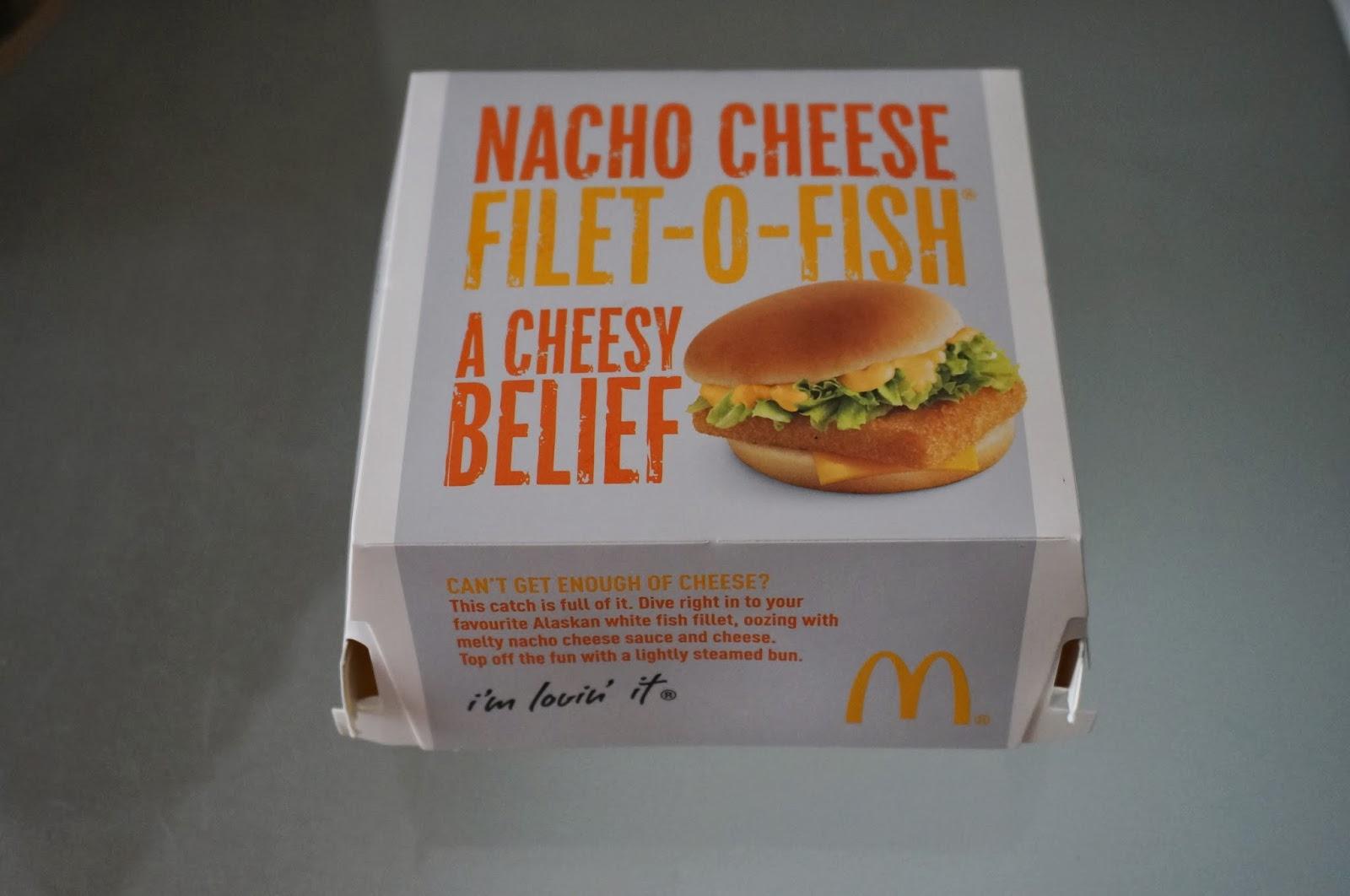 Mcdonald 39 s around the world nacho cheese filet o fish for Mcdonald s filet o fish price