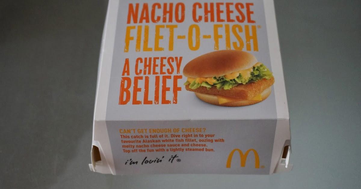Mcdonald 39 s around the world nacho cheese filet o fish for Mcdonalds fish sandwich nutrition