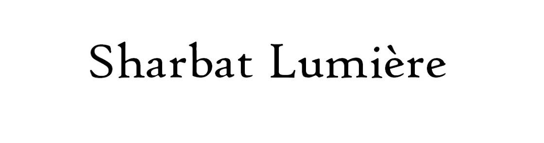 SHARBAT LUMIÈRE