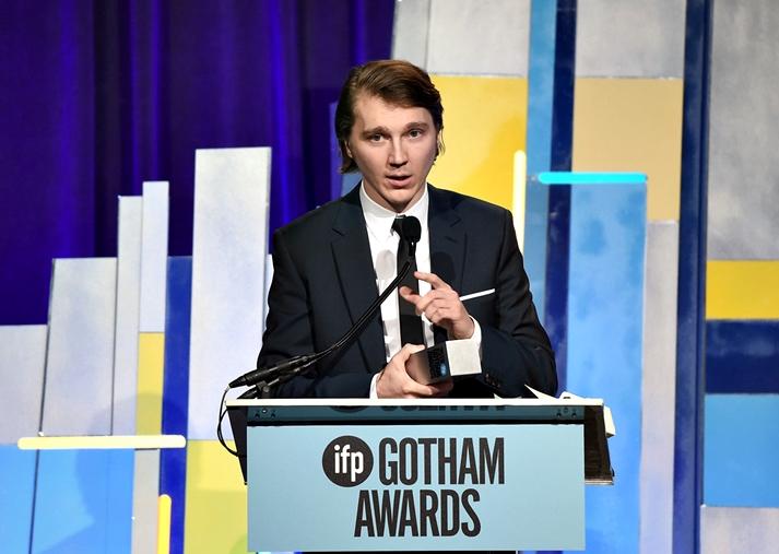 Paul Dano recoge su premio Gotham 2015