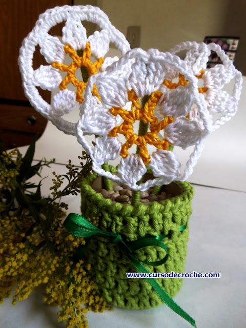 dvd flores margaridas cursodecroche aprendercroche edinir-croche loja