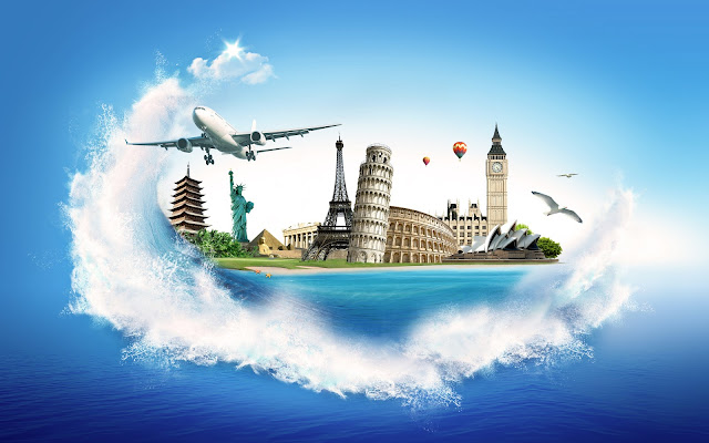 world travel wallpaper
