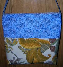 Bolso azul extico