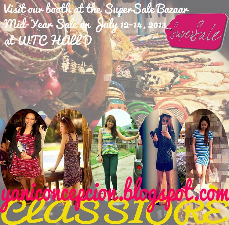 Classioré will be at Supersale Bazaar on July 12-14, 2013