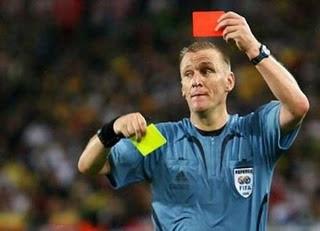 Asal-usul Kartu Merah Dan Kuning Dalam Sepakbola [ www.BlogApaAja.com ]