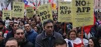 PRESENTACIÓN DE PROPUESTA PREVISIONAL DE COORDINADORA NO + AFP