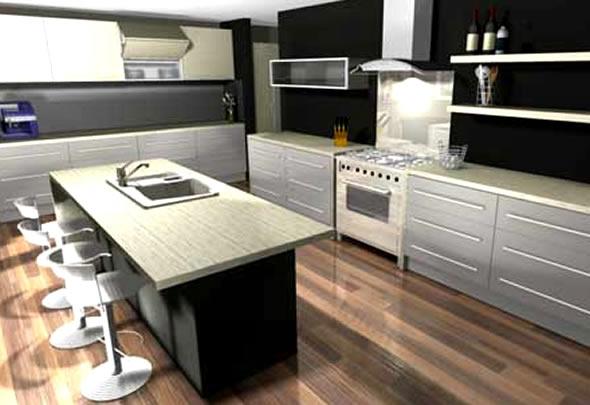 3d movie image 3d kitchen software design for Kitchen design program