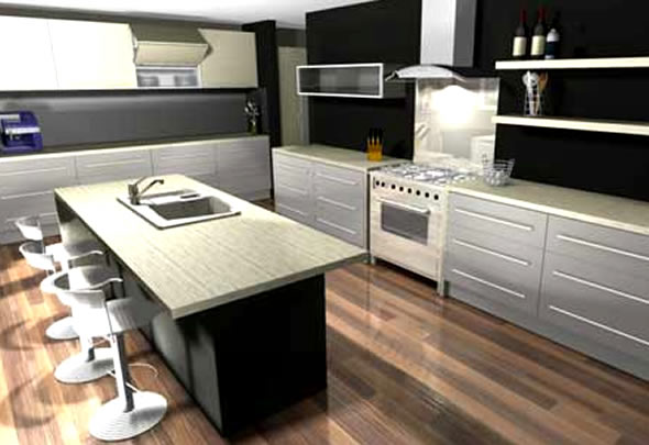 3d Movie Image: 3d Kitchen Software Design.