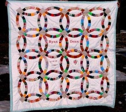 Quiltsmart Brag Post Quiltsmart Double Wedding Ring Quilts
