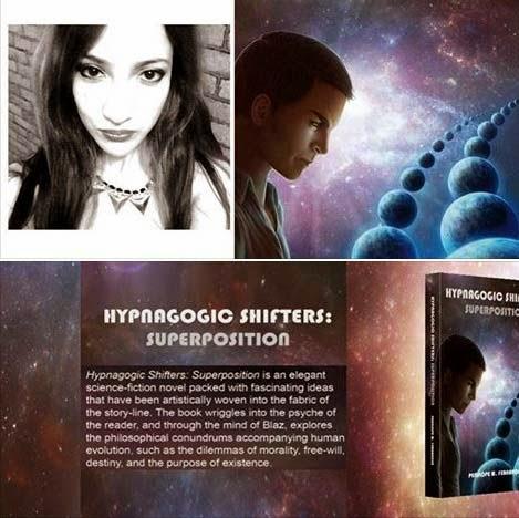 Hypnagogic Shifters Superposition by Penelope M Fernandez - Darjeeling's 1st Science Fiction writer