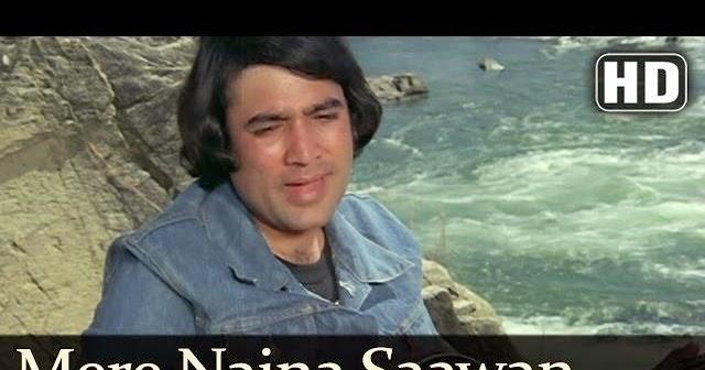mere naina sawan bhadon song lyrics mehbooba 1976