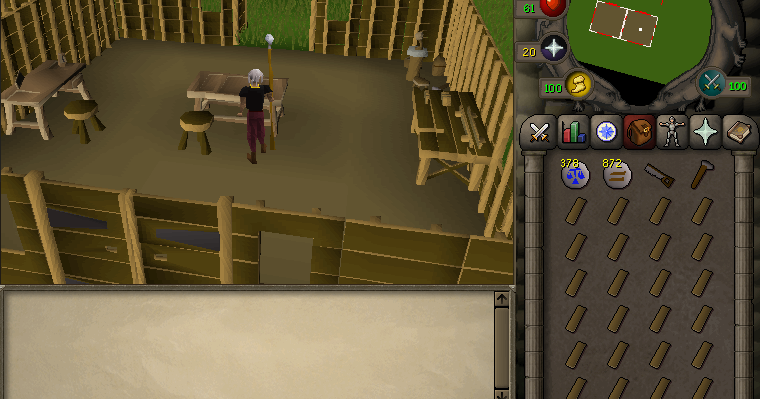 Gameguidefaq 2007scape 1 50 construction guide fastest for Cheapest construction method