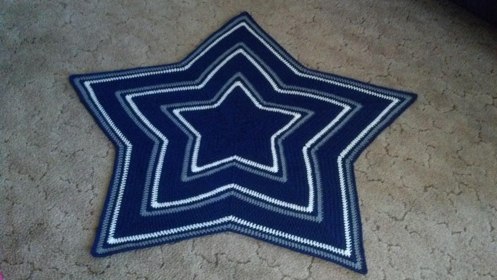 PJ\'s Crafty Creations: Crocheted Star Baby Blanket