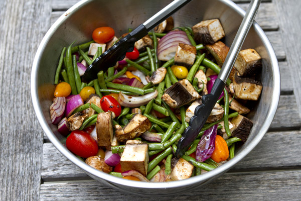 balsamic grilled vegetables grilled salad