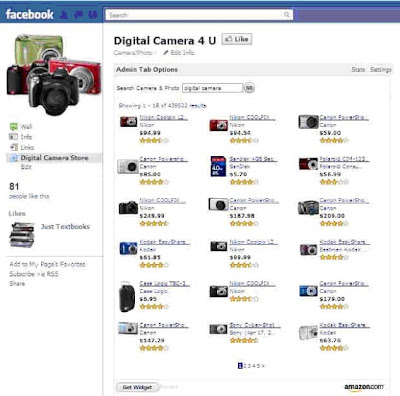 setting FB Store Builder