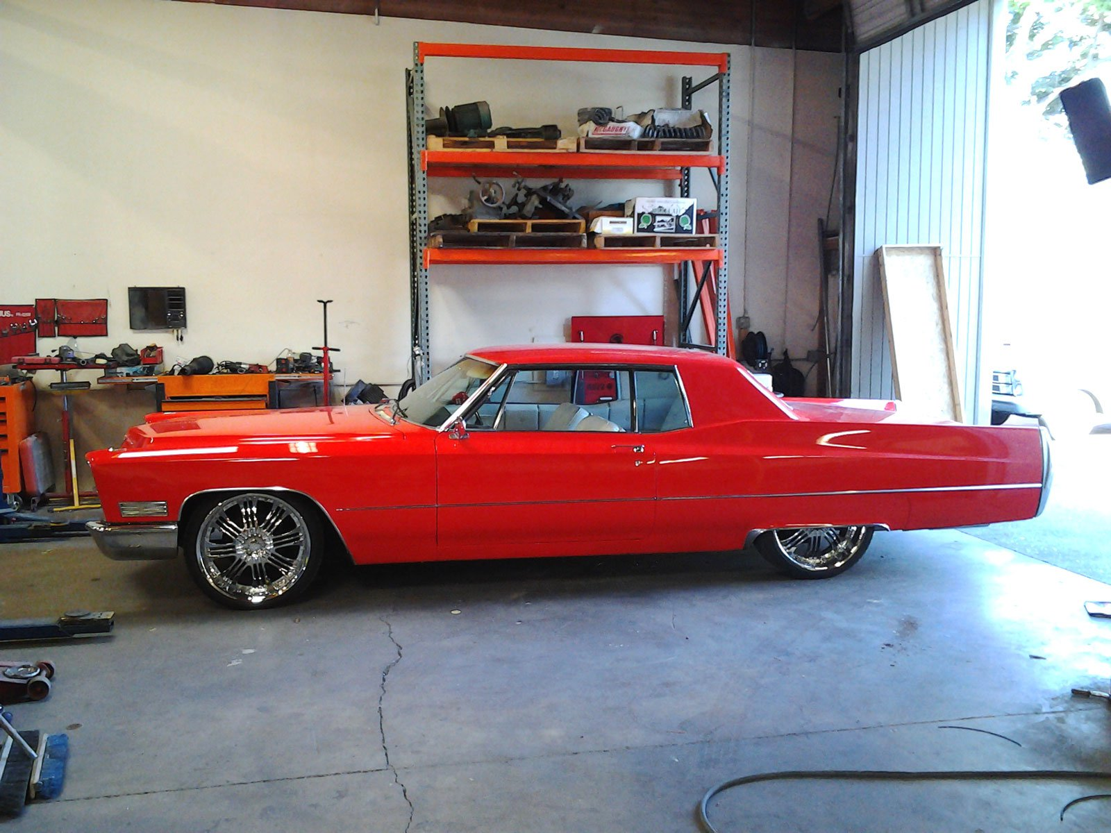 BC Fabrication: '67 Caddy Coupe DeVille