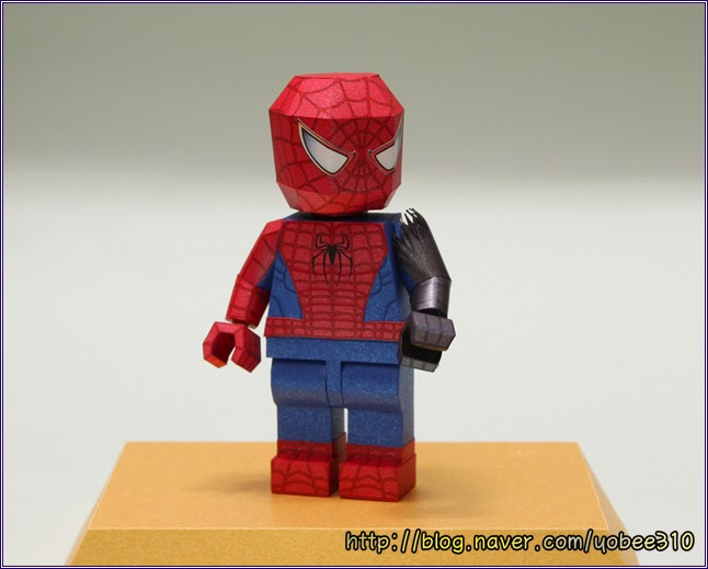 Lego Spiderman Papercraft