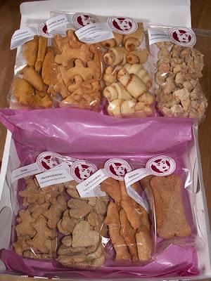 Dogs Deli - Geschenkbox geöffnet