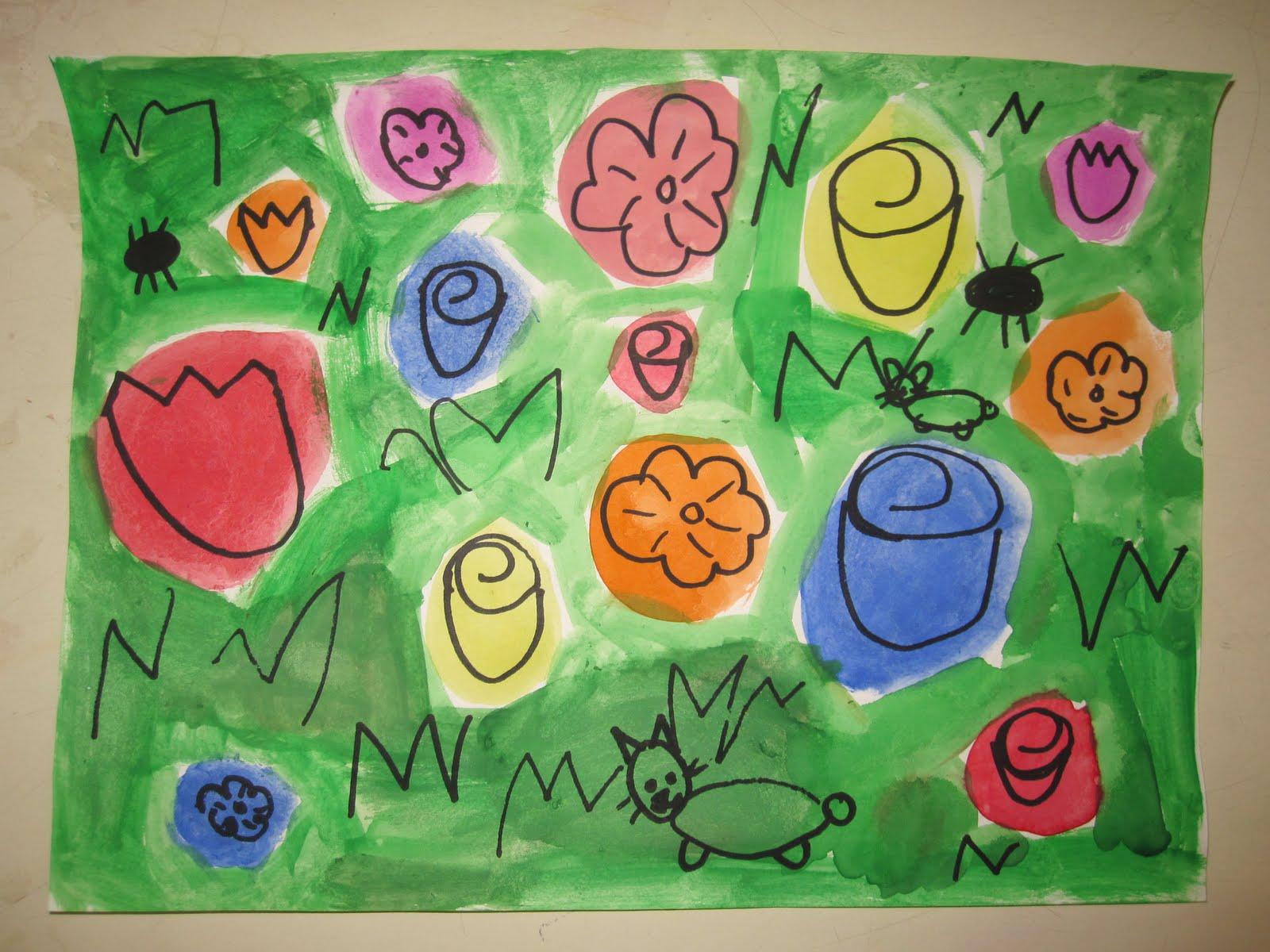 Art Explorium Warhol Inspired Flowers