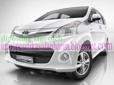 Download Foto Spesifikasi Harga Mobil Toyota Avanza Veloz Terbaru 2013