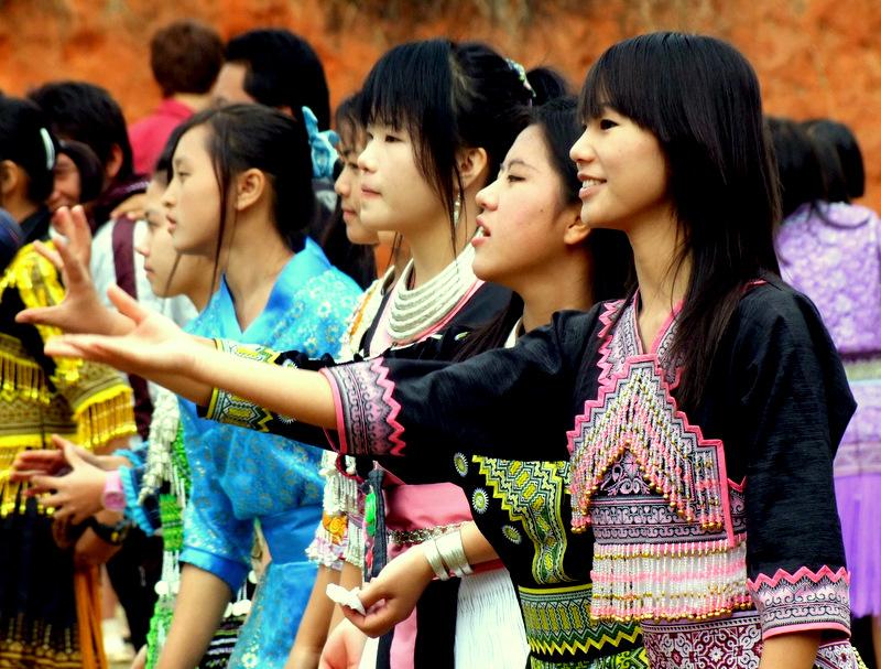 งานขึ้นปีใหม่ของชาวม้งบ้านขุนวาง