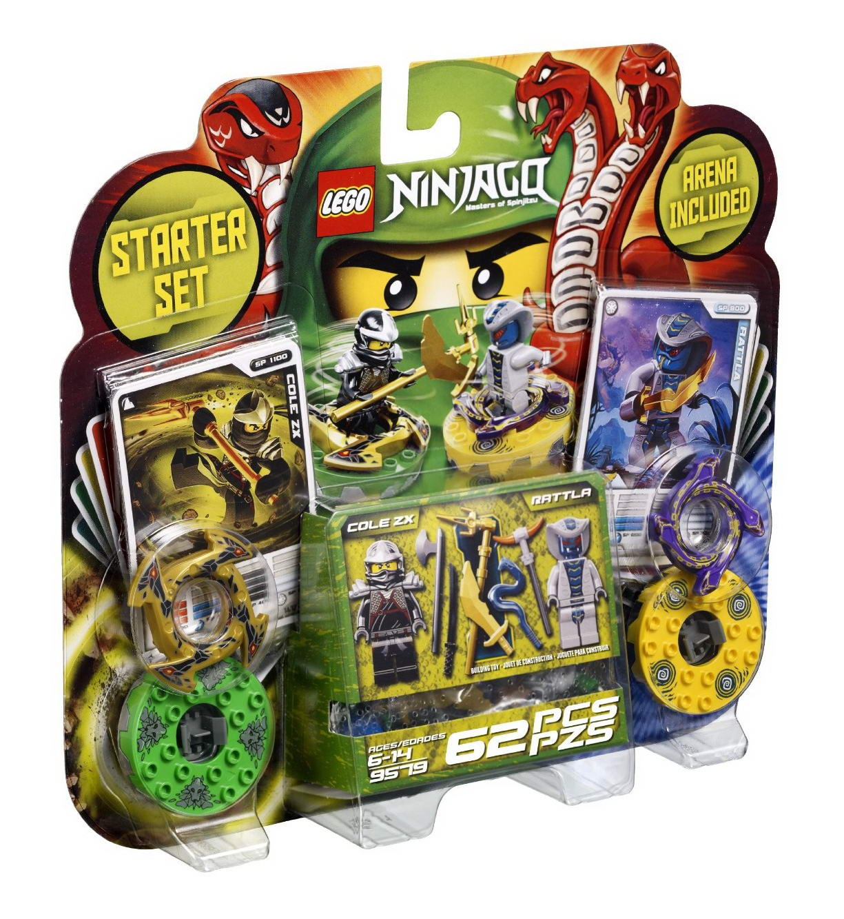 2257 Spinjitzu Starter Set | Ninjago Wiki | FANDOM powered ...