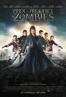 Poster Orgullo y Prejuicio y Zombies