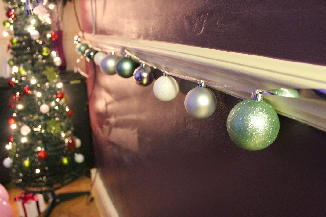 Easy homemade Christmas decorations baubles