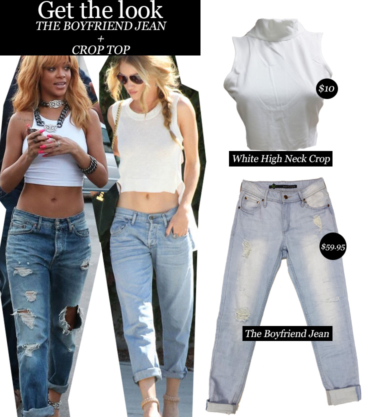 crazy horse clothing GET THE LOOK The Boyfriend Jean