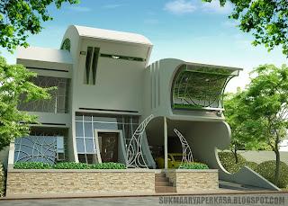 desain Eksterior Rumah