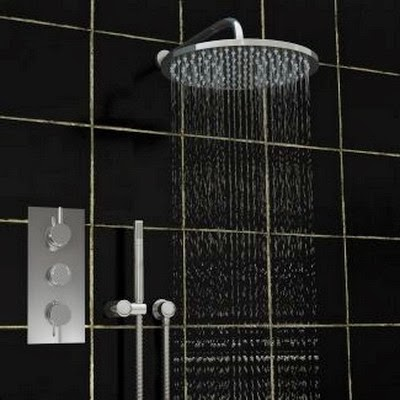 best shower faucet sets. Thermostatic Shower Valve  Triple Concealed Mixer Hand Set Best Heads UK