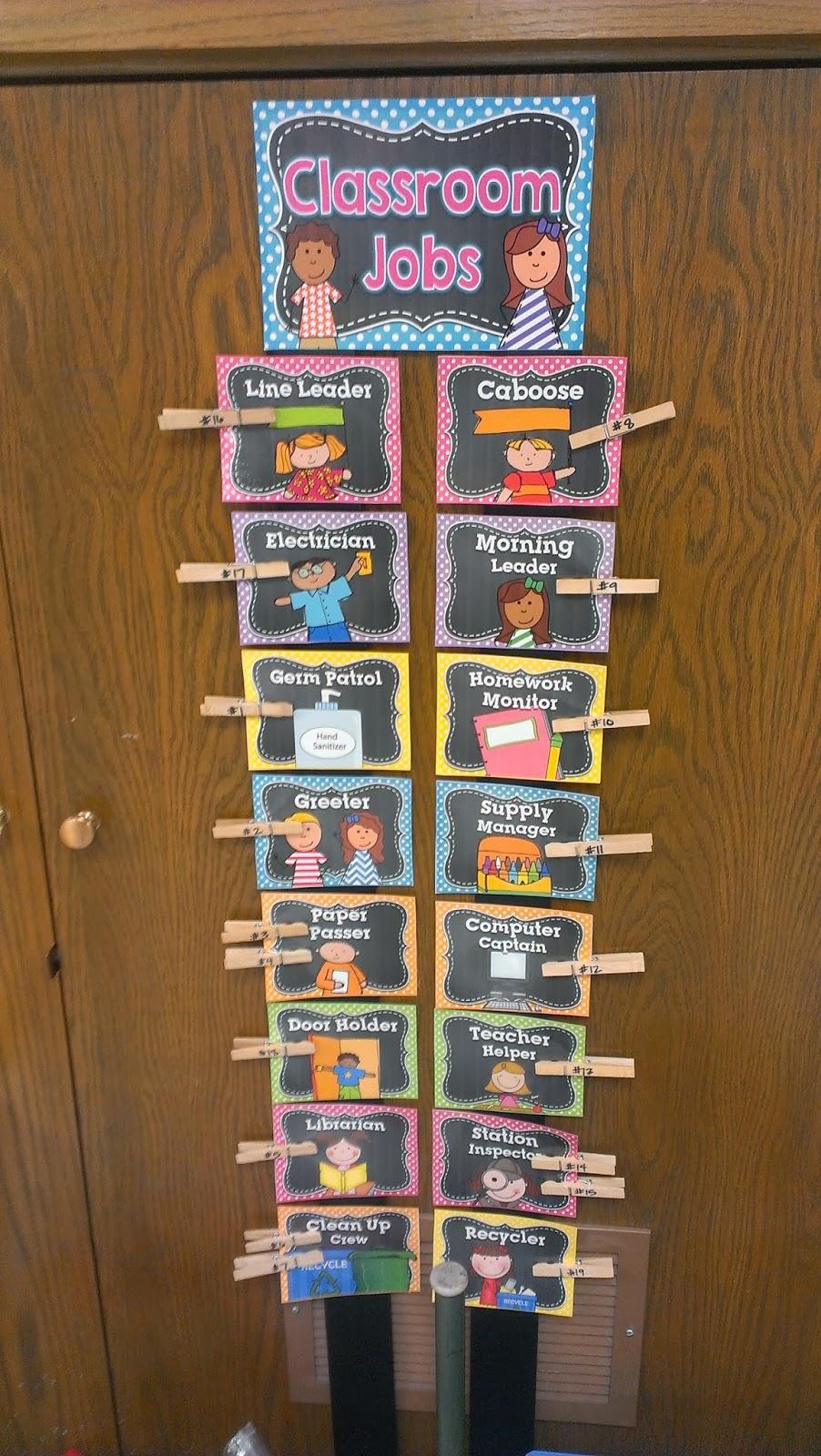 Classroom Job Ideas 3rd Grade ~ Third grade lovin it classroom pics book club