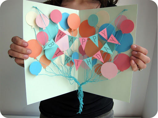Extreme Cards and Papercrafting Balloons Birthday Card – Birthday Cards Balloons