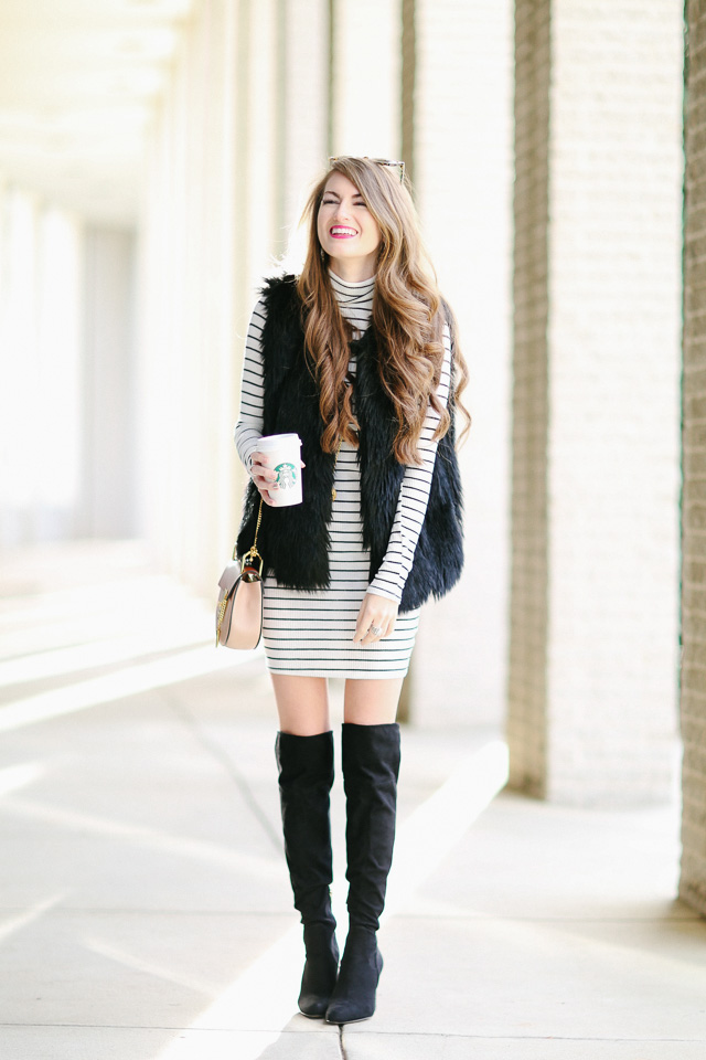 Such a cute look for Winter!