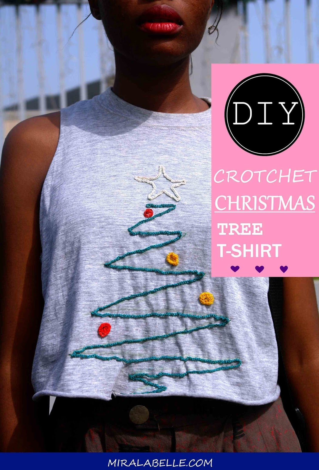 Christmas Tree Crotchet Fashion DIY