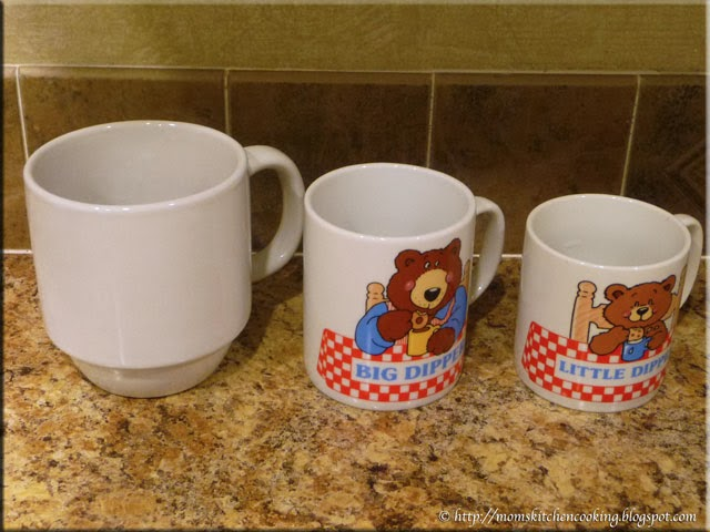 three mug sizes