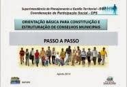 Orientação Básica para Constituição e Estruturação de Conselhos Municipais – (2014)