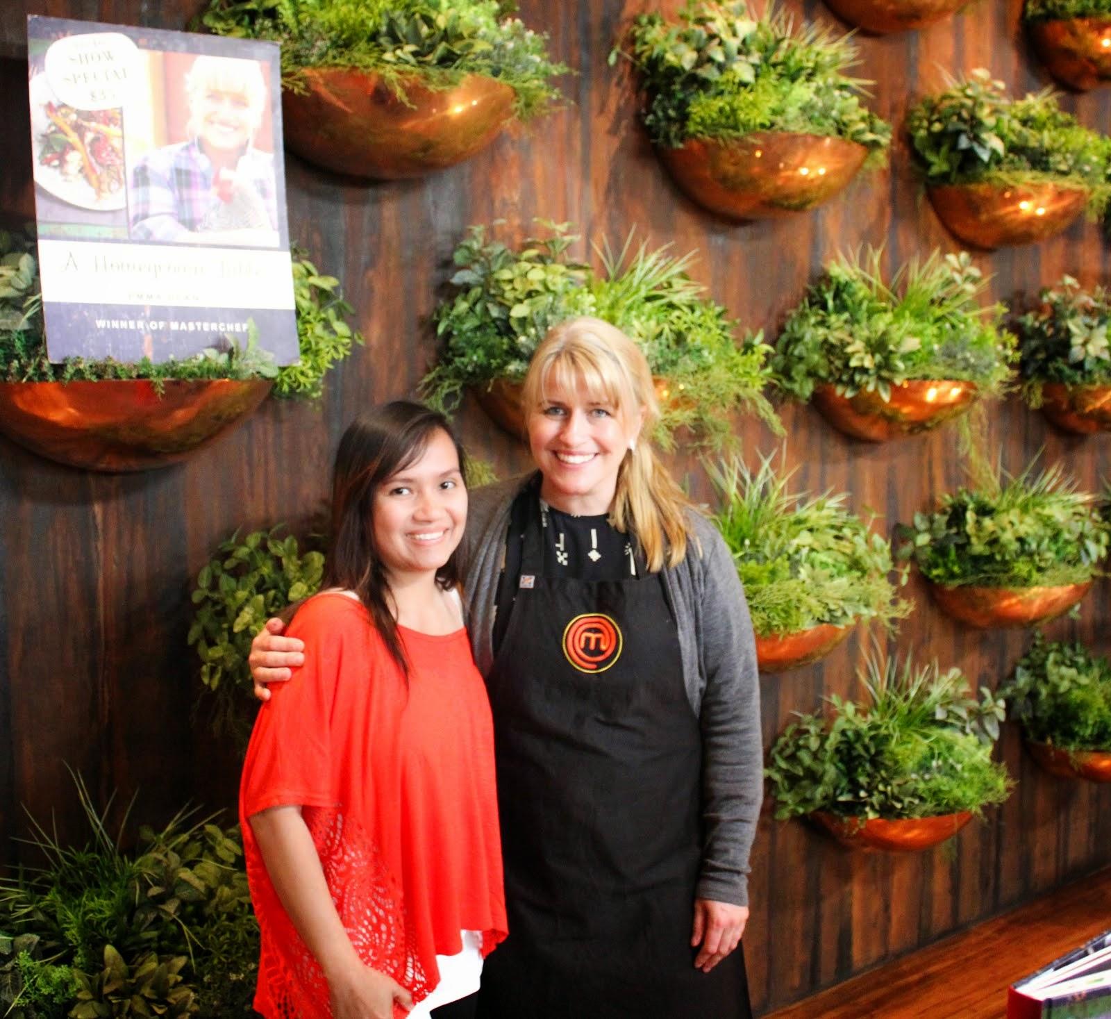 Me & Emma Dean (Masterchef Australia 2013)