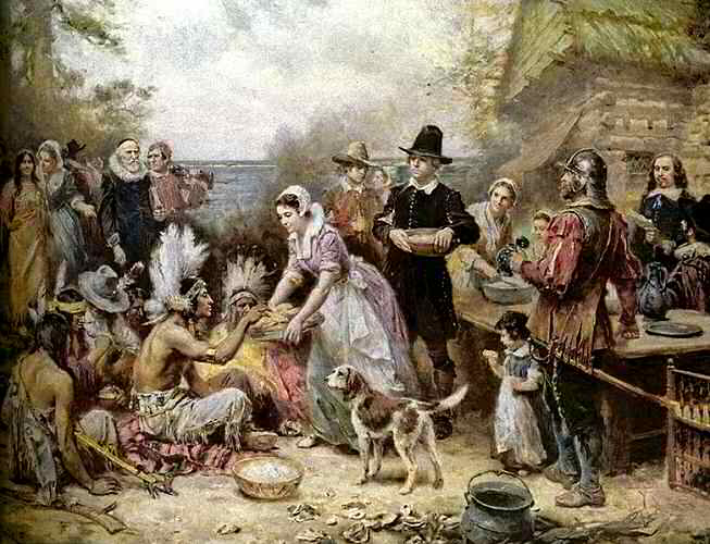 plymouth thanksgiving story Thanksgiving is a particularly american holiday the word evokes images of football, family reunions, roasted turkey with stuffing, pumpkin pie and, of course, the pilgrims and wampanoag, the acknowledged founders of the feast.