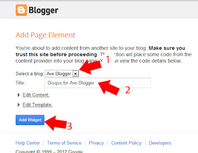 How to install Disqus comments in blogger