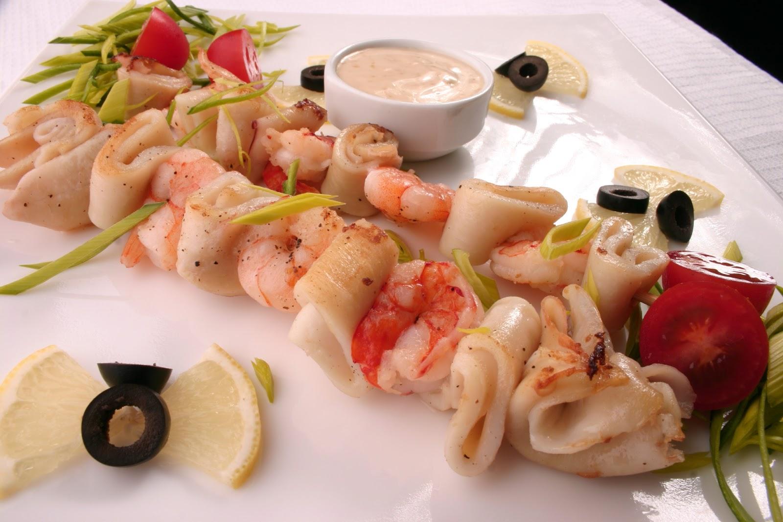 Рецепты блюд из кальмар