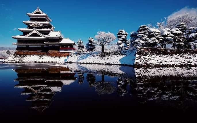 castele din japonia matsumoto