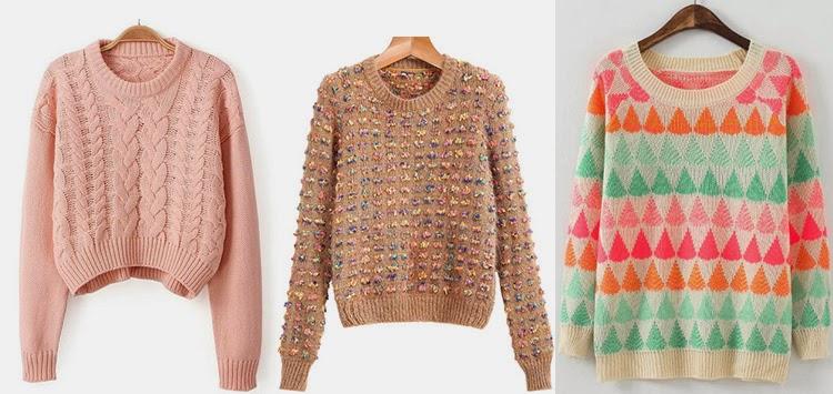 Skinny Buddha Sheinside cozy sweaters