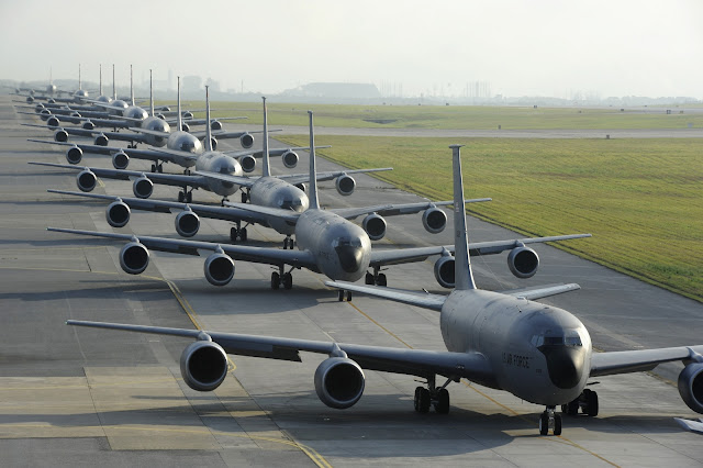 Twelve Air Force KC-135 Stratotankers